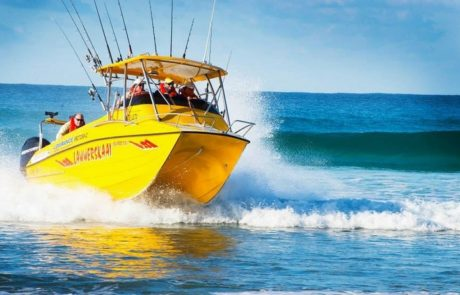 Fishing Charter on the ocean - Mozambique Holiday - Guinjane Lodge
