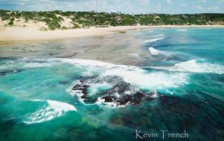 Stunning overview of the beach - Guinjane Lodge