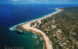 Stunning Overview of the blue ocean- Mozambique Holiday - Guinjane lodge