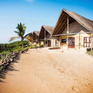 The front Guinjane Lodge Chalets -Self-Catering-Accommodation-Mozambique